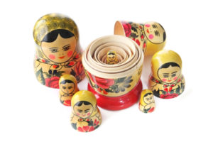 Our aura is like a set of Russian nesting dolls.